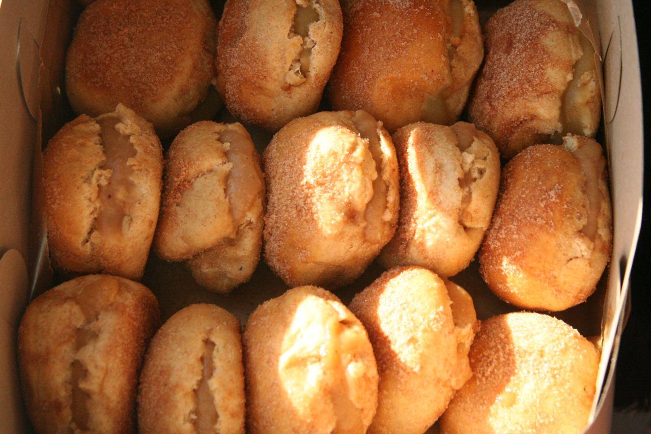 Baked Cinnamon Doughnuts with Quince Cardamom Preserve | Balaboostas