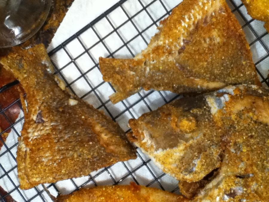 Crispy fried porgy balaboostas for Porgy fish recipe