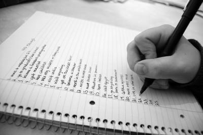 Lists-Passover